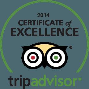 Hotel Santa Croce Firenze certificato tripadvisor 2014
